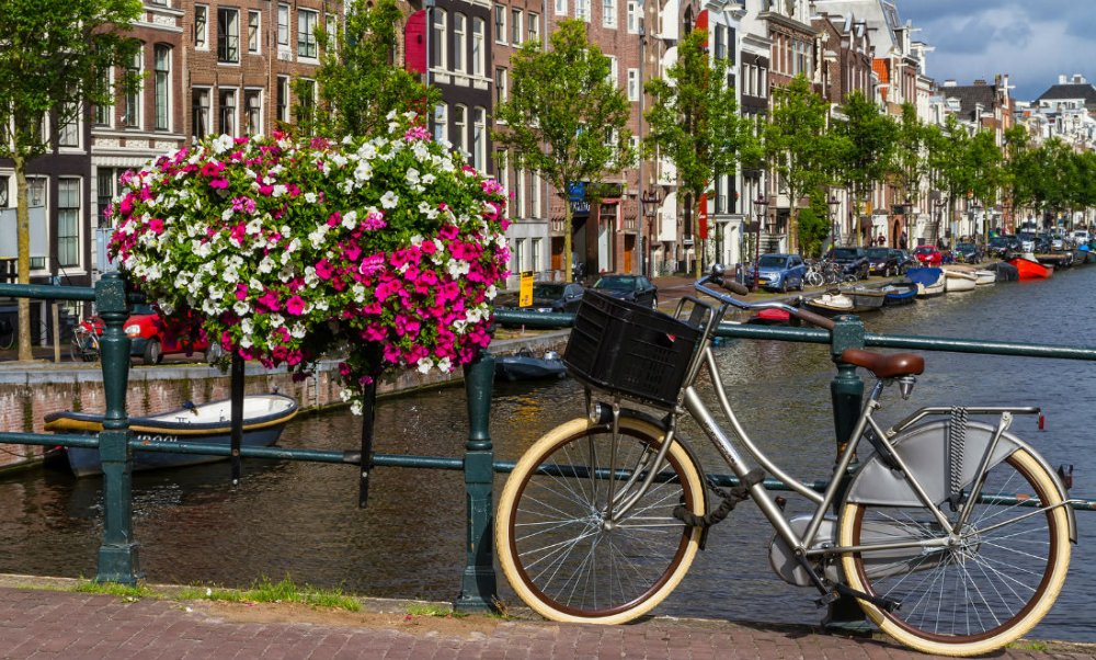 """Amsterdam - Thủ đô """"cuồng"""" xe đạp - Xe Đạp Thống Nhất"""