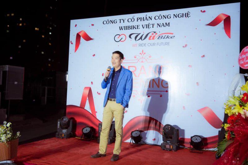 Ông Phạm Văn Minh - Tổng Giám đốc Công ty Cổ phần Thống Nhất Hà Nội có bài phát biểu, chúc mừng đối tác